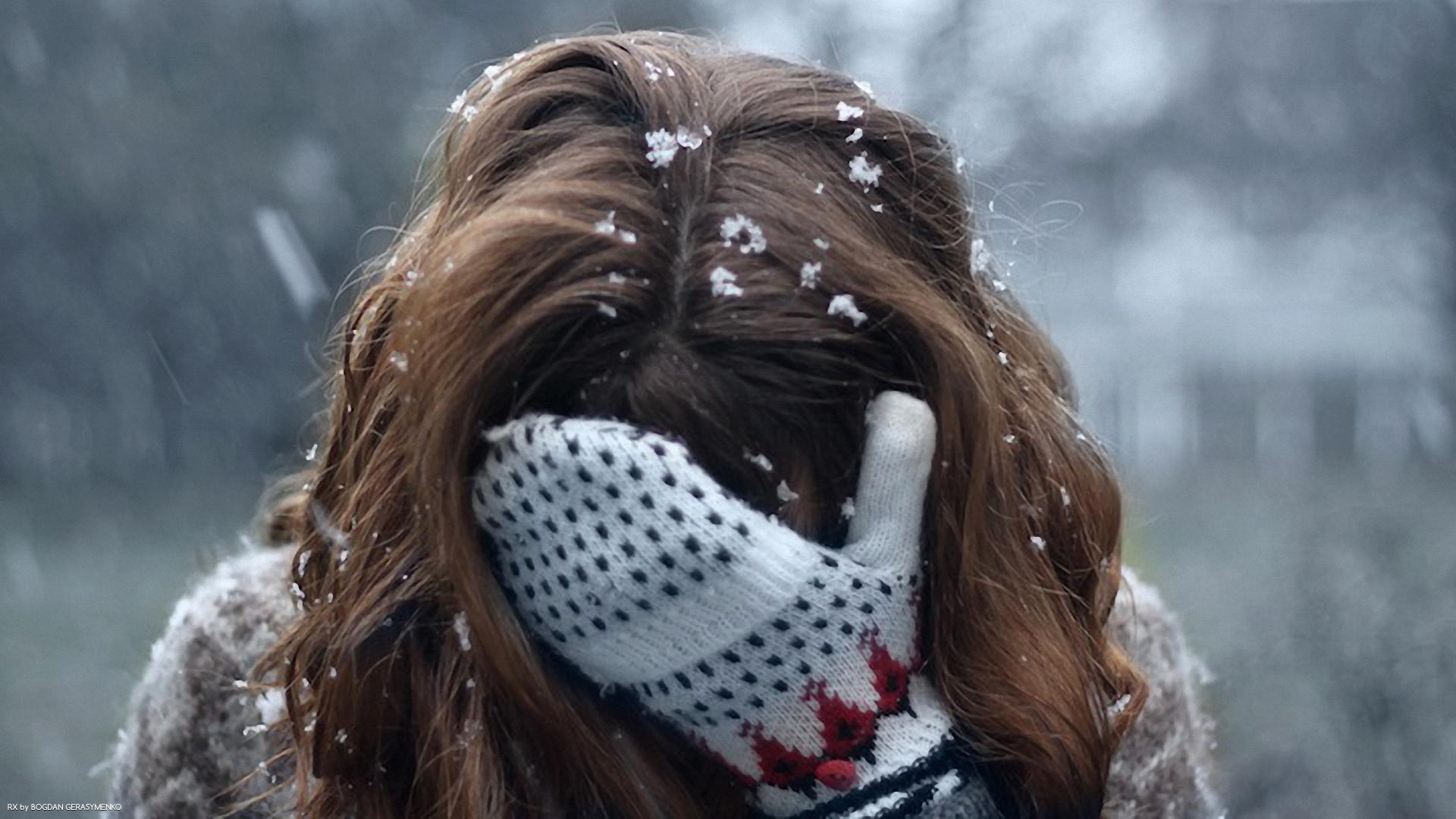 Фото на аву вк со спины зимой